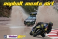 asphalt meets dirt